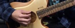 "Zeus Acoustic NGD, una guitarra acústica ""Headless"" de Kiesel"
