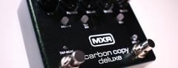 Review de Carbon Copy Deluxe, el delay analógico de MXR