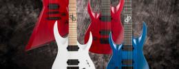 Solar Guitars, dos nuevos modelos para zurdos y más variedad para diestros