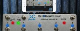 DC Pedals lanza un Looper Bluetooth de 5 canales True Bypass