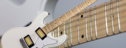 Eastwood Phase 4 MT, una guitarra con mástil microtonal de 32 trastes