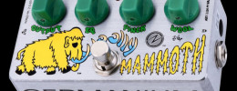 ZVex Germanium Woolly Mammoth Mod, edición limitada con transistores de germanio