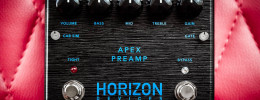 Horizon Devices Apex Preamp, un preamplificador para metal en formato pedal