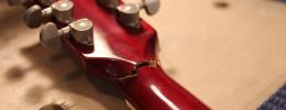 Reparación de una rotura de pala en una Gibson ES-335