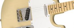 Fender vuelve a fundir los modelos Strato y Tele con la Parallel Universe Whiteguard Strat
