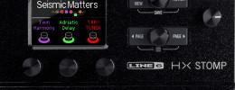 Line 6 HX Stomp, la versión compacta de Helix para integrar en pedaleras