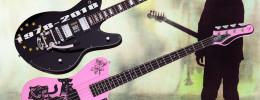 Schecter celebra el 40 aniversario de The Cure con guitarra y bajo en edición limitada
