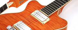 Leader, la nueva linea de guitarras semi solidas de Höfner