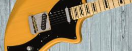 Meteora es la última guitarra de la serie Fender Parallel Universe