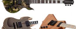 Zakk Wylde lanza 3 nuevas guitarras en edición limitada con su marca Wylde Audio