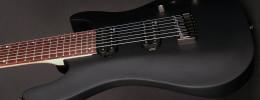 Ya disponible la Cort KX257B, una guitarra barítono de 7 cuerdas orientada al metal