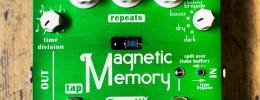 Brunetti Magnetic Memory, un pedal de delay con una válvula en el circuito