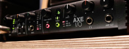 IK Multimedia Axe I/O, una interfaz de audio con reamp e impedancia ajustable