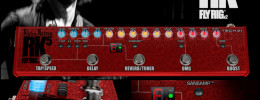Tech 21 actualiza el multiefectos Richie Kotzen Signature Fly Rig RK5 con nuevas funciones