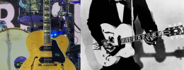 Gibson anuncia una réplica de la guitarra ES-350T propiedad de Chuck Berry