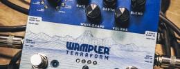 Wampler Terraform, 11 efectos de modulación en un solo pedal