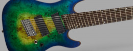 Cort KX508MS, la primera guitarra de 8 cuerdas y multiescala de la compañía coreana