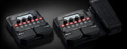 Zoom G1 y G1X Four, la renovación de los multiefectos compactos