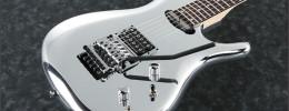 JS1CR, la Joe Satriani Chrome Boy con cuerpo cromado vuelve al catálogo de Ibanez