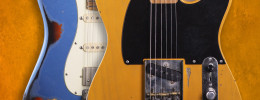 Una Strat y una Tele en la nueva Allen Hinds Xotic California Classic Series Collection