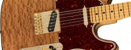 La Red Mahogany Top Telecaster es la guitarra del mes de mayo de la sofisticada serie Rarities