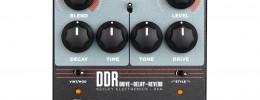 Keeley DDR, un pedal que combina dos tipos de saturación con efectos de delay y reverb