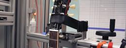 Ajustando una Gibson Les PaulStandard 2019 con una máquina PLEK