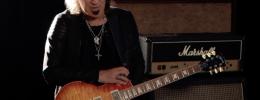 La Gibson Dave Amato Les Paul Axcess Standard combina estética vintage con ergonomía y Floyd Rose