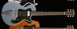 La Folsom de Grez Guitars ofrece un juego de pastillas estilo Tele y Firebird y 3 puentes diferentes