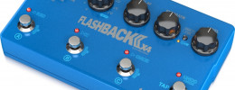 Nuevo Flashback 2 X4 Delay and Looper de TC Electronic con pulsadores sensibles a la presión
