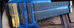 Construcción de una guitarra Claas de 16 cuerdas para Javier Sepúlveda de Pulse of Nature