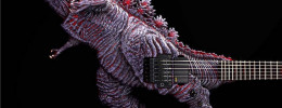 ESP construye una guitarra Godzilla para conmemorar el 65 aniversario del mítico monstruo