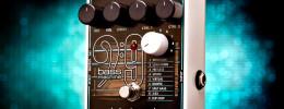 El nuevo Bass9 Bass Machine de EHX transforma tu guitarra en nueve bajos diferentes