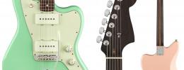 Nueva Fender American Professional Jazzmaster Rosewood Neck con mástil de palorrosa
