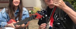 Brian May lanzará una linea de guitarras basada en la Two-Tone diseñada y usada por Arielle