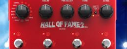 TC Electronic Hall Of Fame 2 X4 Reverb con pulsadores sensibles a la presión y 10 algoritmos