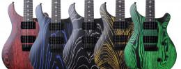 PRS anuncia las guitarras SE Sandblasted Swamp Ash en edición limitada solo para Europa