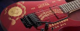 ESP y LTD Kirk Hammett Ouija con acabados Purple y Red Sparkle en edición limitada