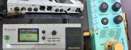 Mooer muestra un prototipo de la GE 250 y un pedal sintetizador en Music China 2019