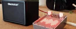Un pedal de guitarra Arduino que analiza la señal y crea efectos visuales en su pantalla