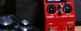 Vistazo rápido al BOSS RC-10R: pedal looper con baterías sincronizadas