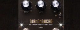 Seymour Duncan Diamondhead, pedal de distorsion + boost orientado al metal y hard rock