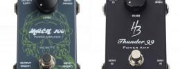¿Es el nuevo pedal amplificador de Carvin de 199 dólares el mismo que el Harley Benton de 88 €?