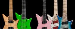 Nuevas Kiesel Type-X Headless de 6 y 7 cuerdas y versiones multiescala con 6, 7 y 8