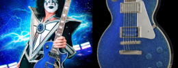 Epiphone Tommy Thayer Electric Blue Les Paul, nueva signature para el guitarrista de Kiss