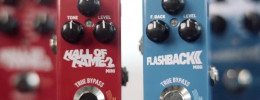 TC Electronic Hall of Fame 2 Mini y Flashback 2 Mini Delay, ahora con tecnología Mash