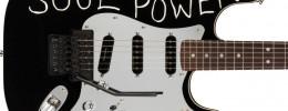 "Fender Tom Morello ""Soul Power"" Stratocaster basada en la que usaba con Audioslave"