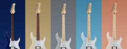 Yamaha añade nuevos colores a la gama Pacifica 112V y a las Silent SLG200S y SLG200N