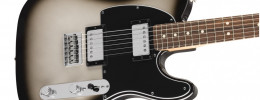 La Fender Player Series HH Telecaster con acabado Silverburst, ya disponible en Europa