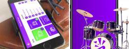 ¿Atarse el móvil al zapato? Añade una batería electrónica a tu pie con la app Stompai